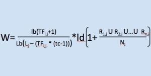 Formel WDFxIDF