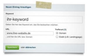 Keyword Überwachung im Seitwert-Monitor