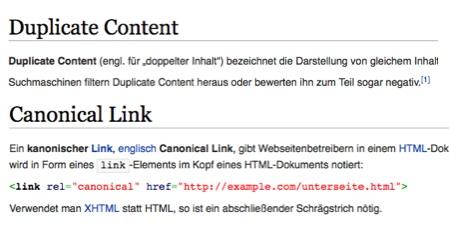 duplicate-content-wiki Kopie