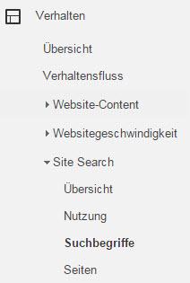 site-search-google-analytics-suchbegriffe