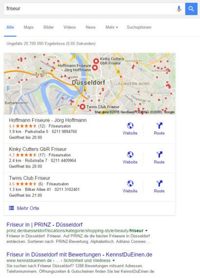 google-suchanfrage-friseur