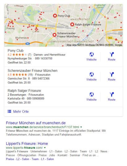 google-suchanfrage-friseur-muenchen