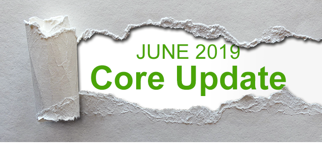June 2019 Core Update